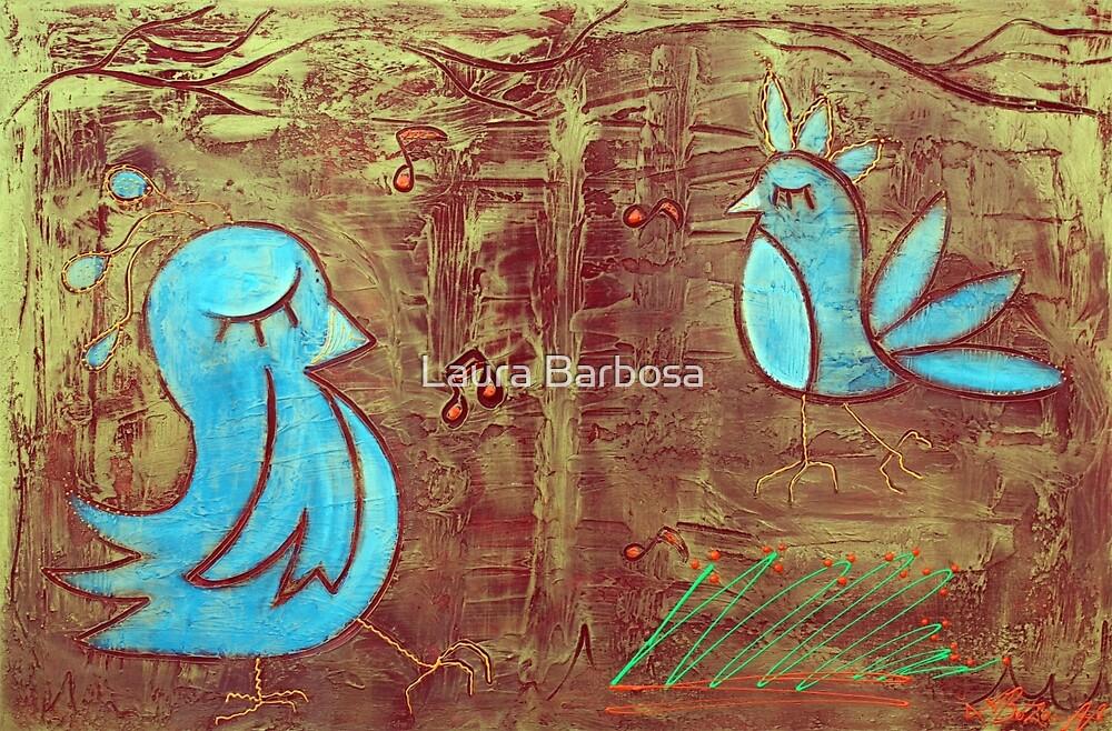 Blue Birds by Laura Barbosa