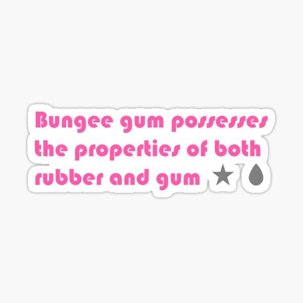 Bungee Gum Sticker
