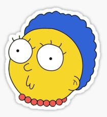 Morty/Marge Sticker