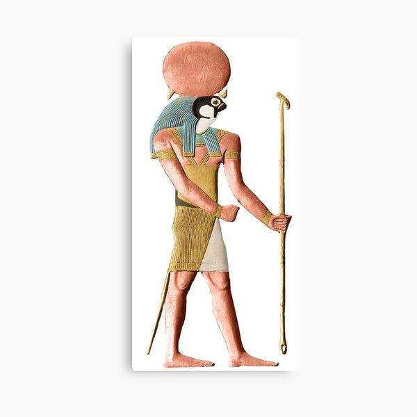 Ra / Re Horakhty Ancient Egyptian Sun-God Canvas Print