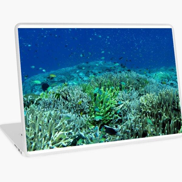 Reef Flat at Saru Namu-Namu Island. Laptop Skin