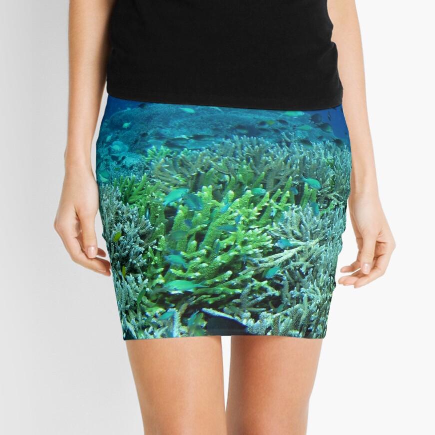 Reef Flat at Saru Namu-Namu Island. Mini Skirt