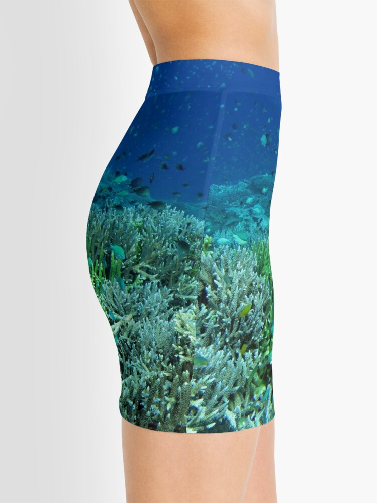 Alternate view of Reef Flat at Saru Namu-Namu Island. Mini Skirt