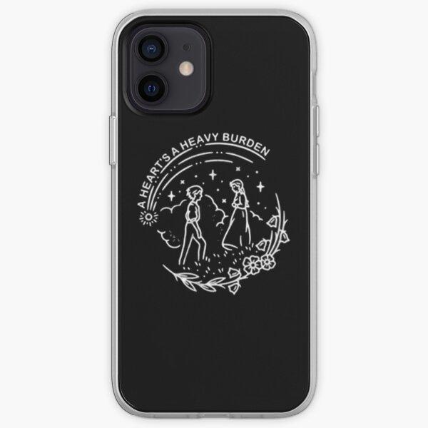 UN CORAZONES UNA CARGA PESADA Funda blanda para iPhone