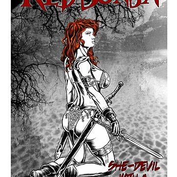 Red Sonja II by MontyBorror