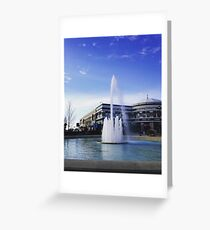 Easton Town Center fountain Greeting Card