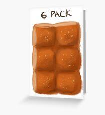 6 pack Greeting Card