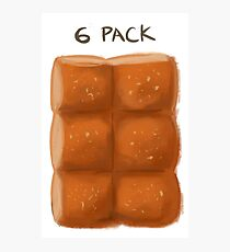 6 pack Photographic Print