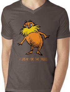 I Speak For The Trees - Lorax Mens V-Neck T-Shirt