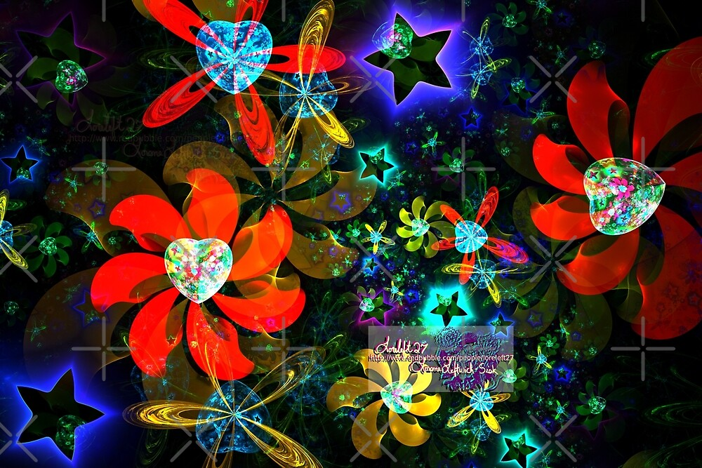 stars and hearts sphericals 2 by LoreLeft27