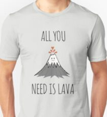 AllYouNeedIsLava! Slim Fit T-Shirt