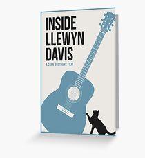 Inside Llewyn Davis film poster Greeting Card