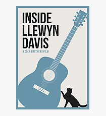 Inside Llewyn Davis film poster Photographic Print