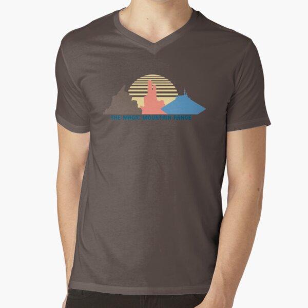 The Magic Mountain Range V-Neck T-Shirt