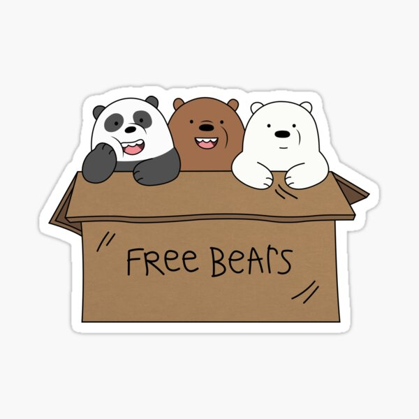 Free Bears Sticker