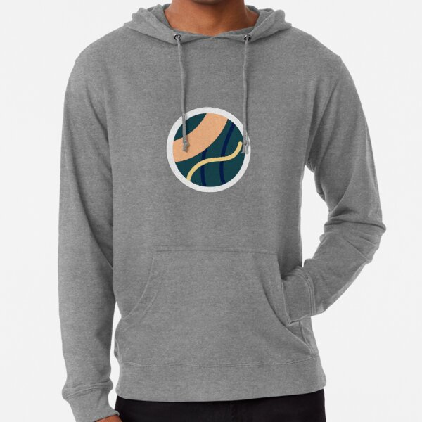 Abstract circle  Lightweight Hoodie