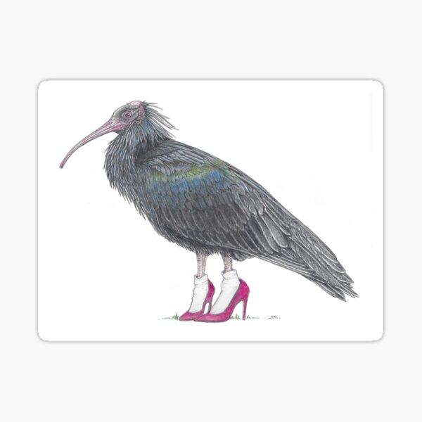 ibis in high heels Sticker