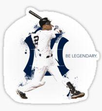 Derek Jeter Be Legendary Sticker