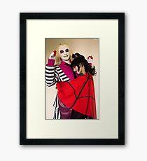 Hug-love Framed Print