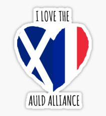 I Love the Auld Alliance Sticker