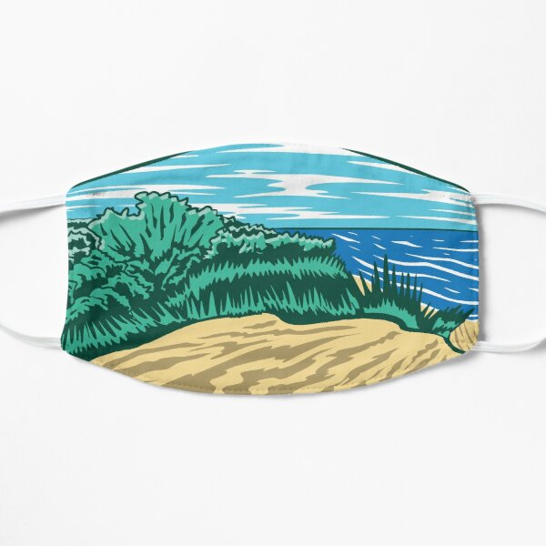 Nature's Gem Dunes Flat Mask