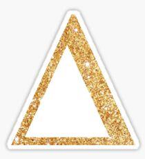 delta gold Sticker
