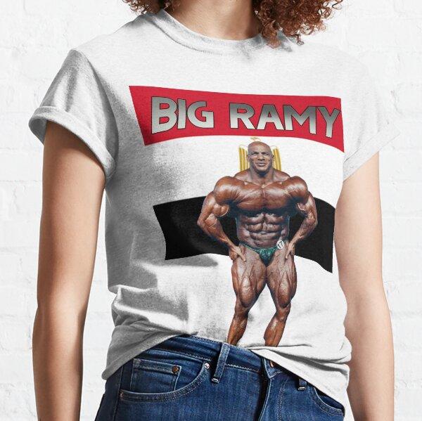Bodybuilding Legend - Big Ramy - Egypt Flag Classic T-Shirt