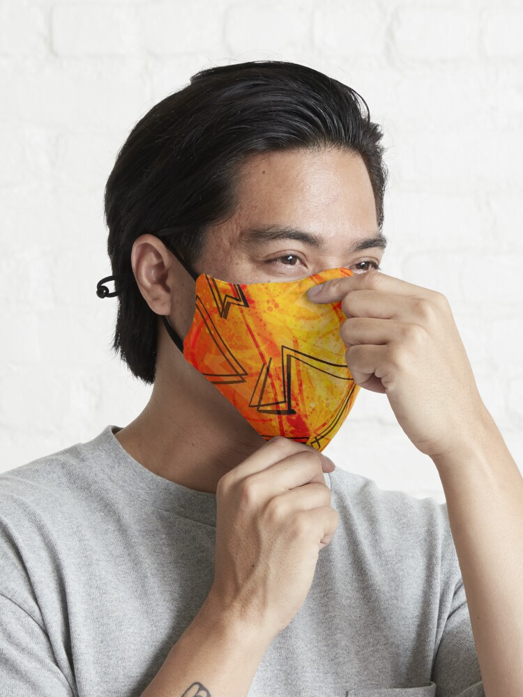Alternate view of Sunflower Sky Mask
