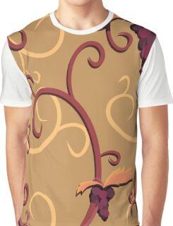 Grapes Vine Graphic T-Shirt