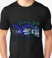 Lights at the zoo at night Unisex T-Shirt