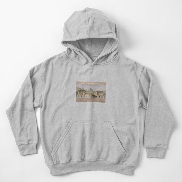 Jean-Jacques Lequeu Kids Pullover Hoodie