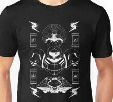 The Bounty Hunter - White Ink Unisex T-Shirt