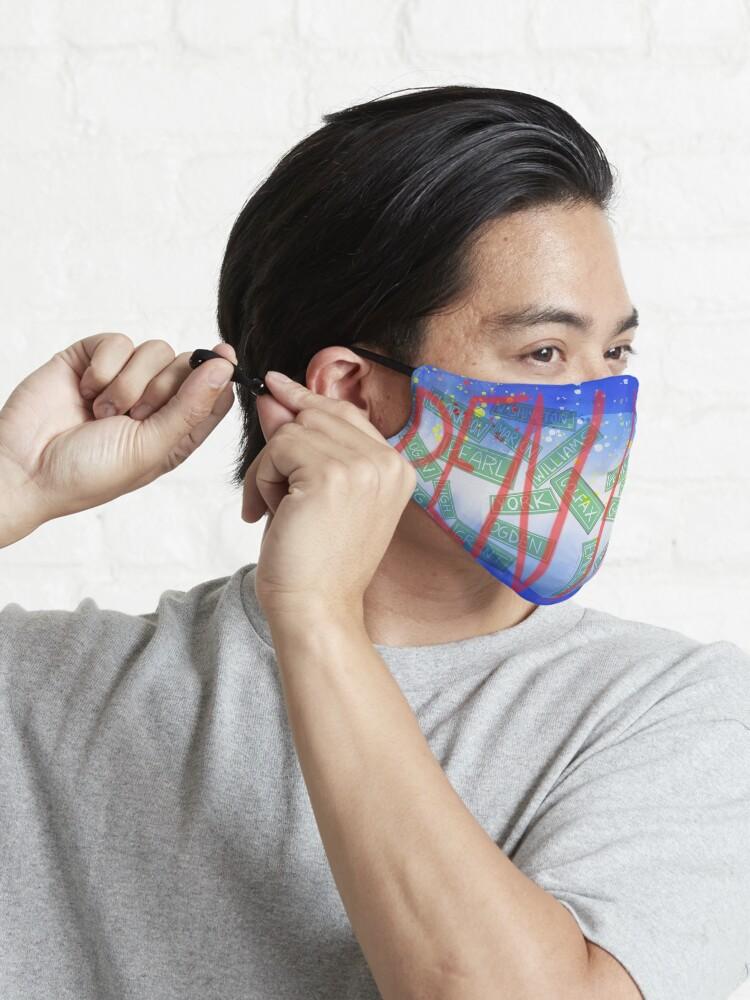Alternate view of Street Dreams Mask