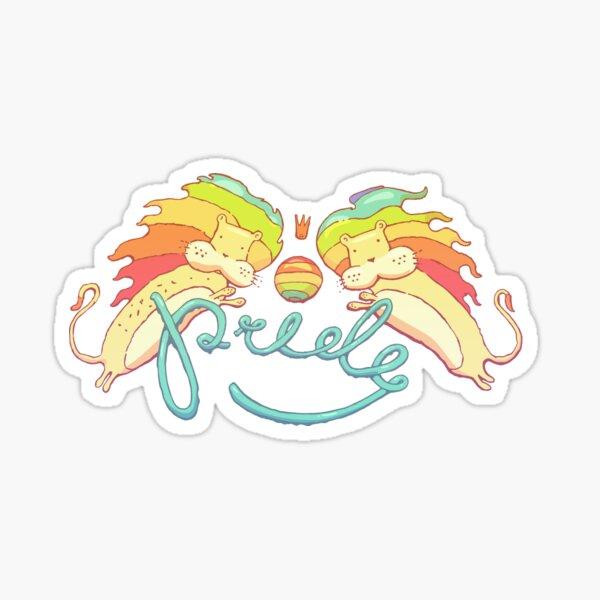 Lionbow Sticker