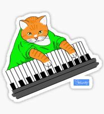 Key_Cat Sticker