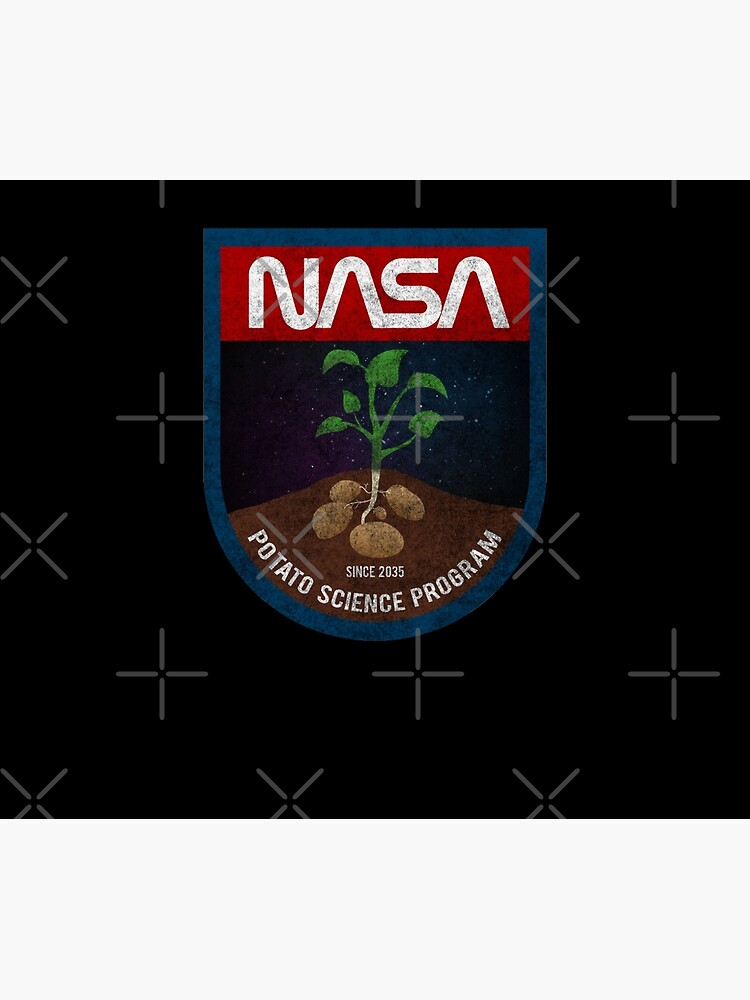 The Martian - Potato Science Program - Black Dirty by garudoh