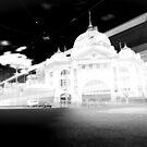 Flinders Street Tram by Andrew Wilson