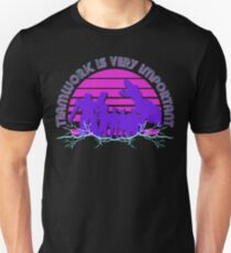 Kung Fury - Teamwork is Very Important! T-Shirt