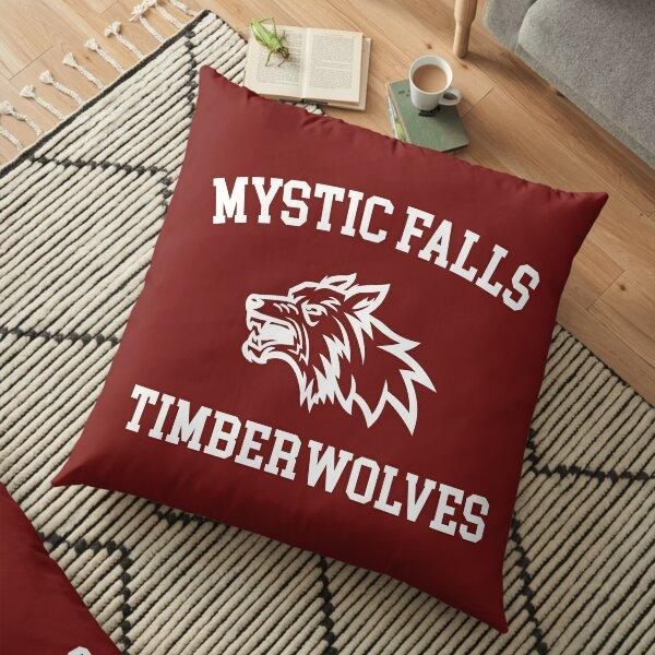 Mystic Falls Timberwolves - Professional Quality Graphics Floor Pillow