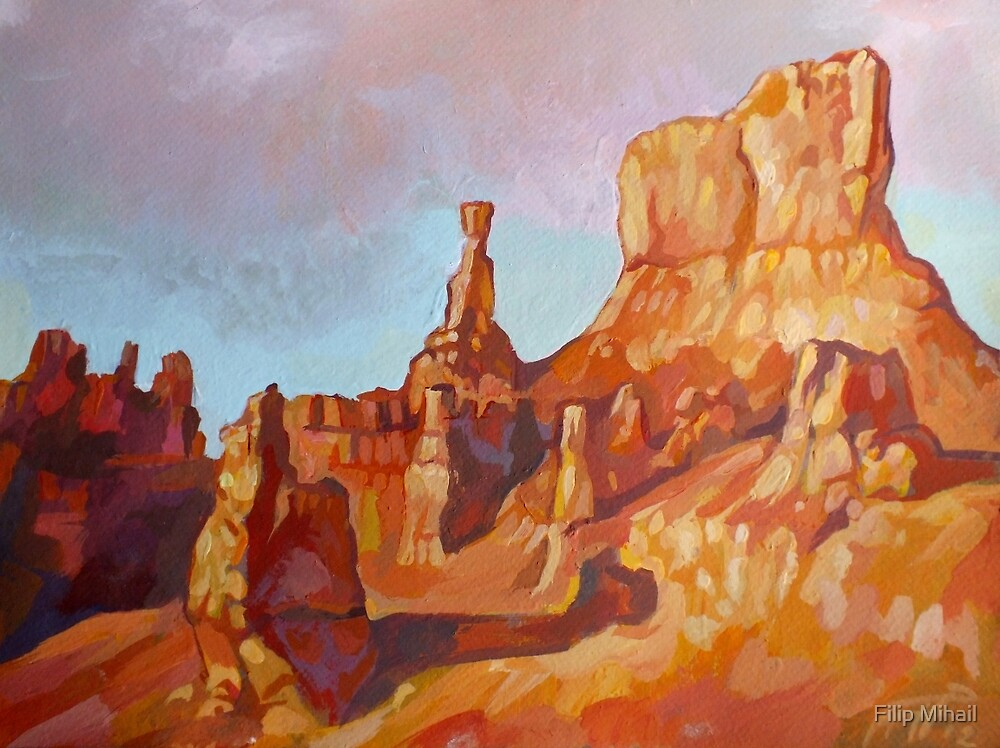 The Sentinel - Bryce Canyon National Park by Filip Mihail