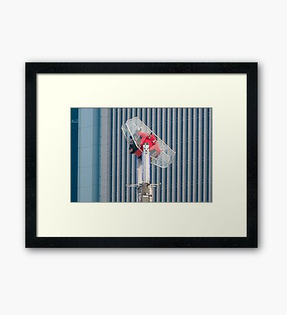 People Pay To Do This! Framed Print