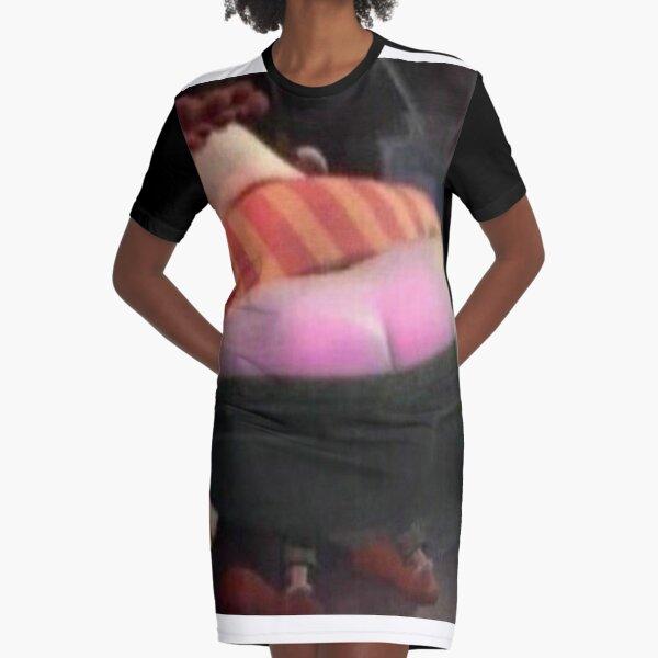 nice butt girlfriend gift i like your butt artsy butt dress booty dress butts gift Line Art Butt T-Shirt Dress