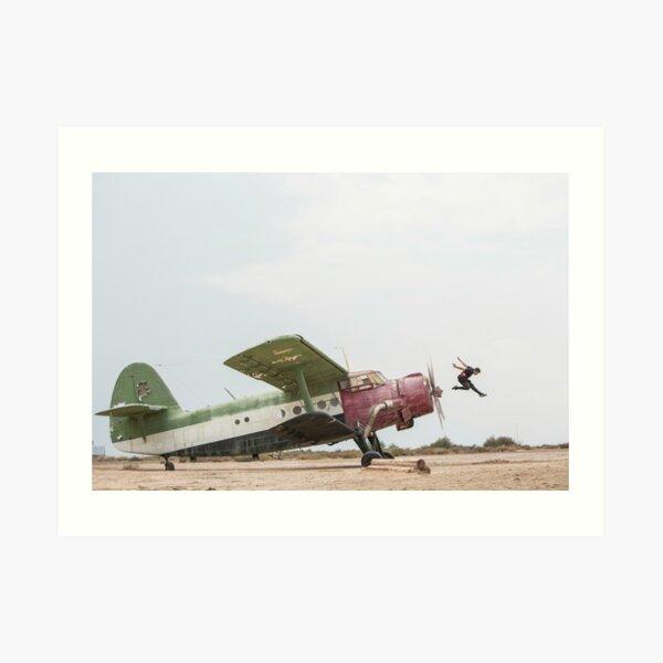 Jason Paul - Airplane Jump Art Print