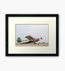 Jason Paul - Airplane Jump Framed Print