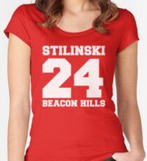 Stilinski 24 - Beacon Hills Women's Fitted Scoop T-Shirt
