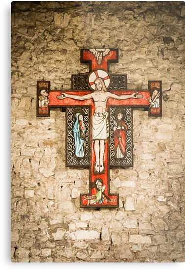 Cross at St Peter on the Wall, Bradwell on Sea by Pauline Tims