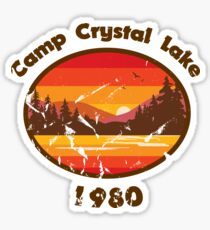Camp Crystal Lake - Friday 13th Sticker