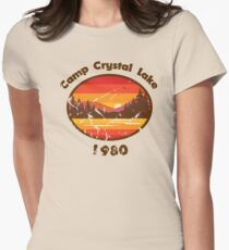 Camp Crystal Lake - Friday 13th Womens Fitted T-Shirt