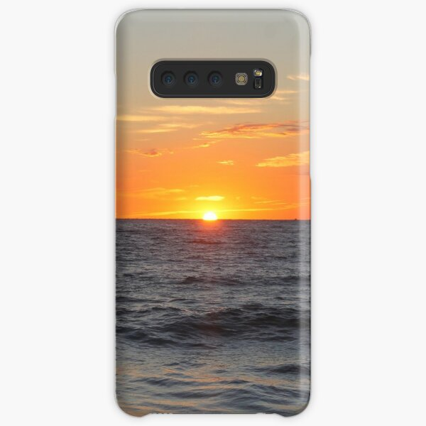 Horizon: Sun and Ocean Samsung Galaxy Snap Case
