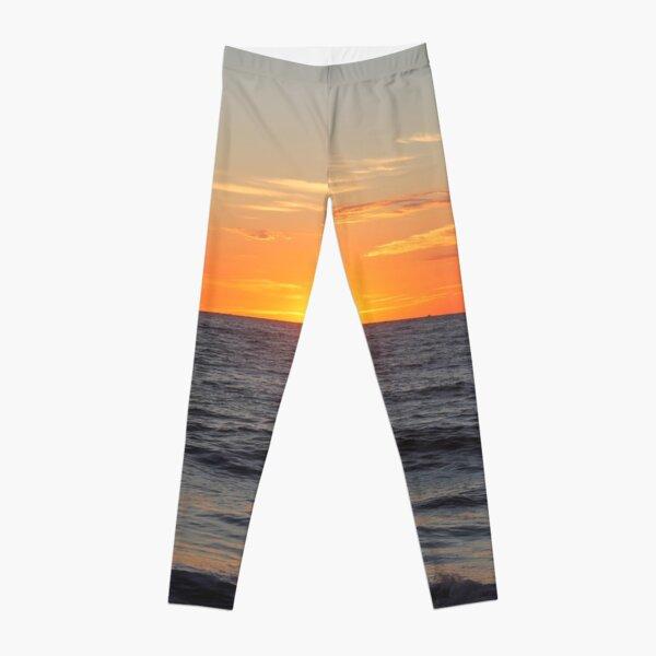 Horizon: Sun and Ocean Leggings